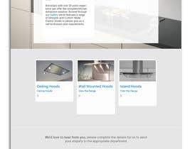 nº 5 pour Bespoke Cooker Appliance Website Homepage par mhtushar322