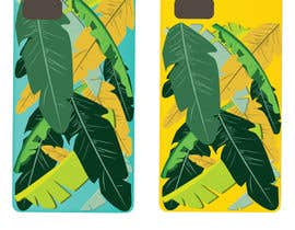nº 14 pour Tropical banana leaf mobile phone case design par MUKTITAPAN