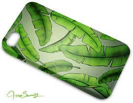 nº 30 pour Tropical banana leaf mobile phone case design par samcomics