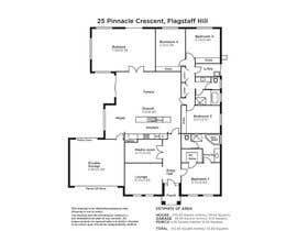 #8 untuk Re-Draw a Floorplan oleh Illustrator13