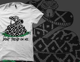 nº 40 pour Design a Snake T-Shirt (Gadsden flag - Tread On Me) par tsproject10