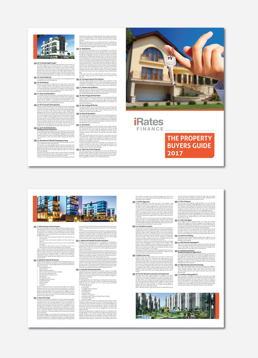 Proposition n°7 du concours How to Buy A Property Guide (iRates Finance)