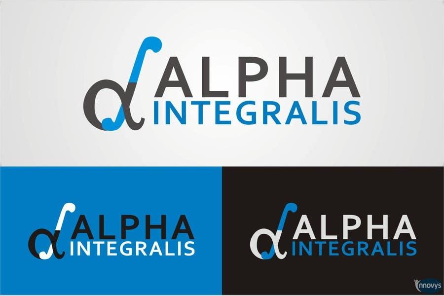 Penyertaan Peraduan #183 untuk Logo Design for Alpha Integralis