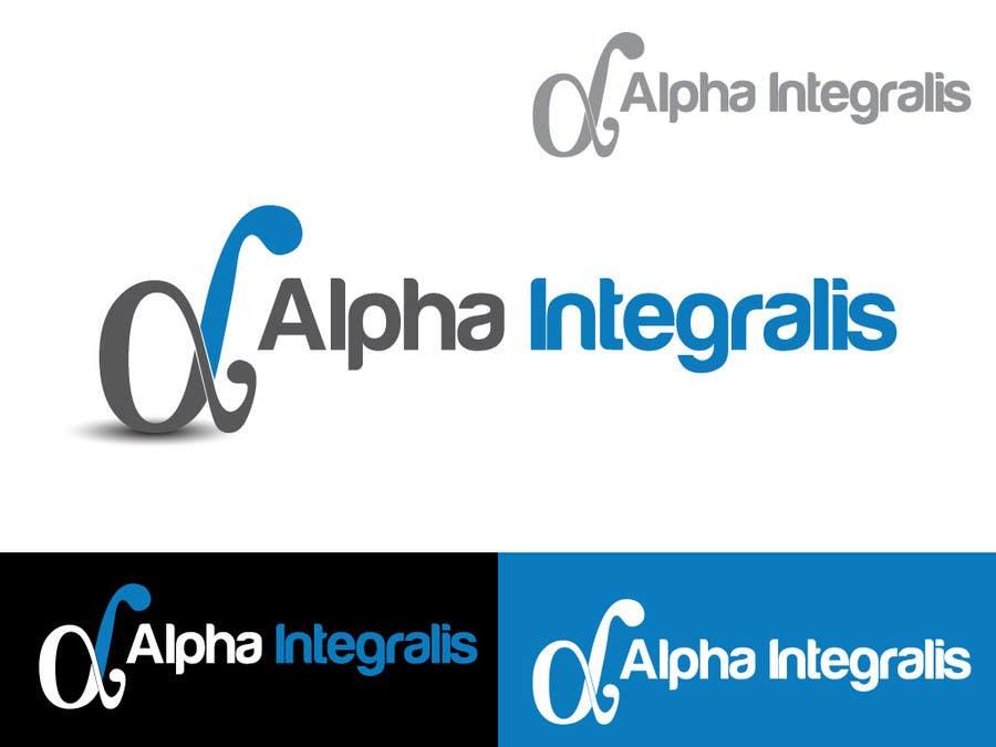 Penyertaan Peraduan #3 untuk Logo Design for Alpha Integralis