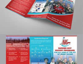 #34 for Design a Hockey program Trifold Brochure. Most of content given. by AthurSinai