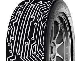 nº 8 pour Digital Tyre Image par mdhkatebi