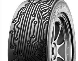 nº 27 pour Digital Tyre Image par mdhkatebi