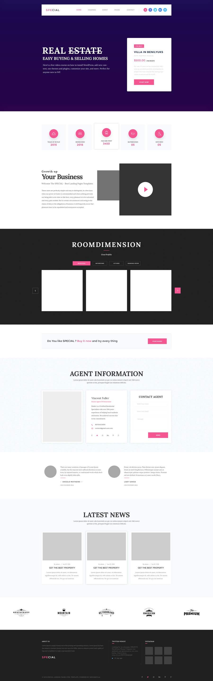 Proposition n°17 du concours Design a homepage Mockup (Only photoshop or similar) without front end coding. Just nice/modern graphic design