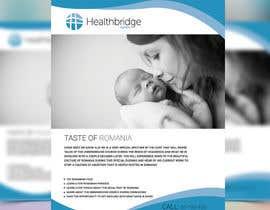 nº 7 pour Healthbridge Global 1-sided flyer par joymarma11