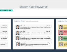 nº 4 pour Design a Website Mockup - Twitter Feed Dashboard par mitrayecreation
