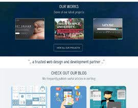 #29 for Improve design of 5 pages by vivekdaneapen