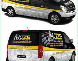nº 19 pour Design a Hydraulics Hose Van graphics par Azhoeck