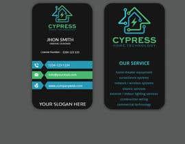 nº 232 pour Business Card Design - Technology Integration - Electrician par Sagor7777