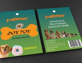 nº 6 pour Design a Brochure or flyer for dog toys to hang par rajiyalata
