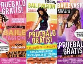 #12 for Diseñar flyer clases de baile by sandyyairis