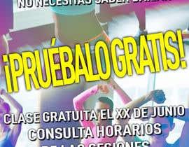 #13 for Diseñar flyer clases de baile by salesdavid90