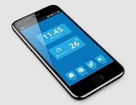 nº 17 pour Design an App Mockup par omar019373
