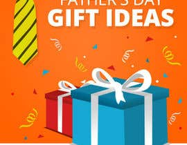 nº 45 pour Design a Banner for Fathers Day par AliChorov