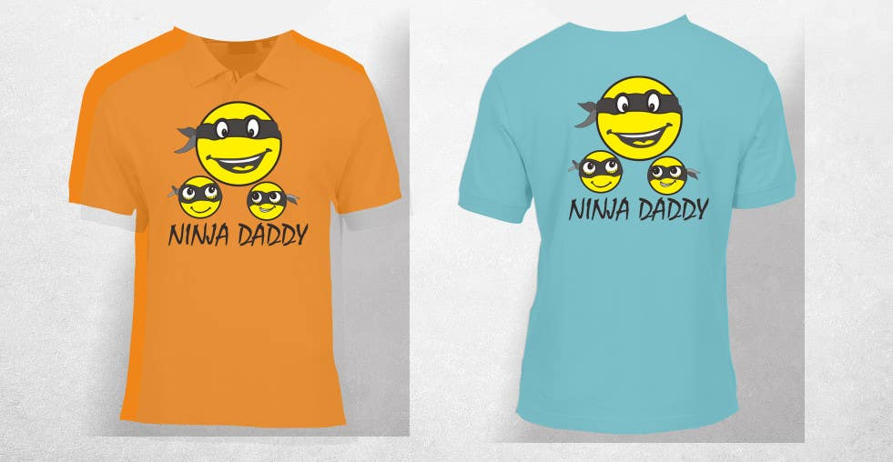 Proposition n°20 du concours Ninja Daddy Graphic Design