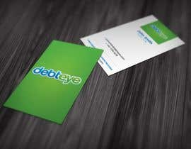 #34 pentru Business Card Design for Debteye, Inc. de către creativecrane