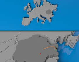 nº 4 pour short 4 sec 3d animation of a map for a video par mayankparmar90