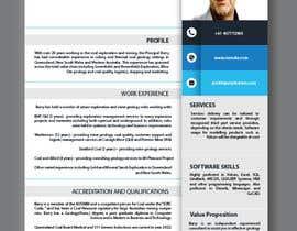 nº 4 pour Design a Flyer - Capability Statement par anlonain2