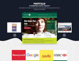 nº 10 pour Design a Website Homepage for Marketing and Digital Company par pixelwebplanet