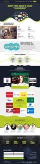 Icône de la proposition n°11 du concours Design a Website Homepage for Marketing and Digital Company