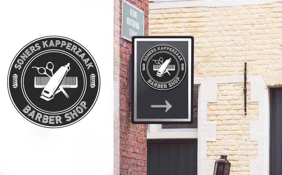 Proposition n°42 du concours Design a Logo for a barbershop
