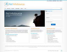 #59 untuk Website Design for First InfoSource oleh anjaneyabattu