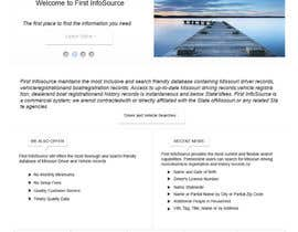 #65 untuk Website Design for First InfoSource oleh rana60