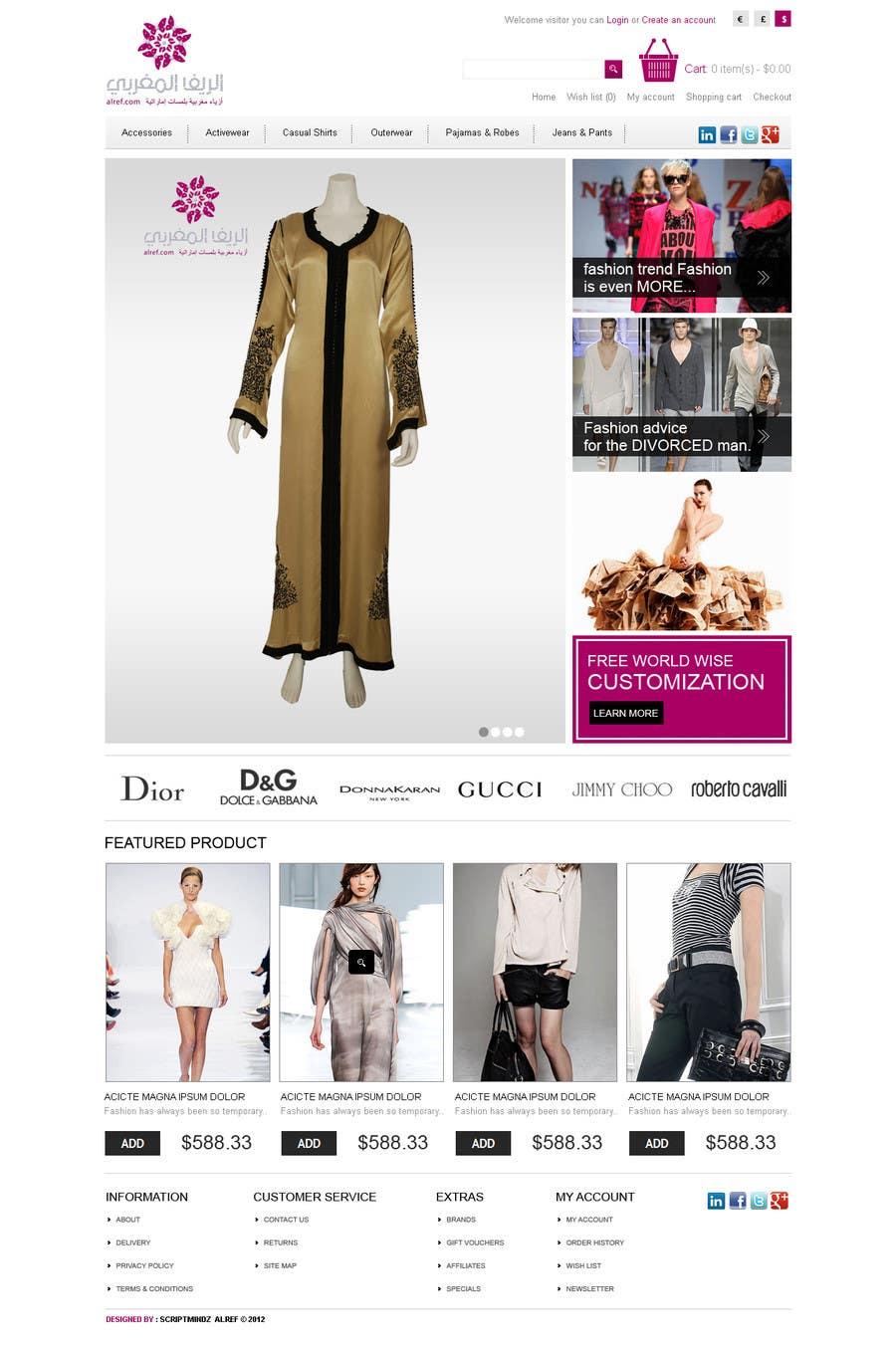 Inscrição nº                                         30                                      do Concurso para                                         Website Design for fashion business
