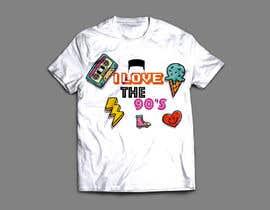 nº 38 pour Design a T-Shirt_ilovethe90s par harisfahmie