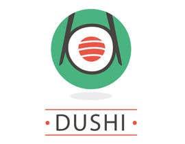nº 12 pour Dushi Dubai Sushi Logo par carlosbc1990