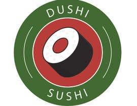 nº 13 pour Dushi Dubai Sushi Logo par carlosbc1990