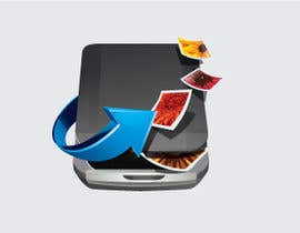 #118 pentru Icon Design for a Document Scanner Phone App de către TecImag