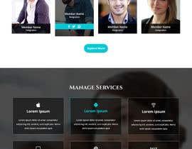 nº 17 pour Design a Website Mockup par csatya