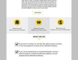 nº 26 pour Build a very Simple Website SB par designerchoize