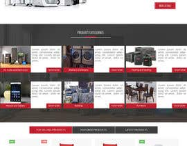 nº 82 pour Design website - homepage and generic product page par dotfusiontech