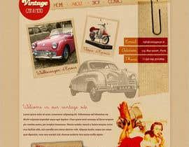 #5 para Criar um Site em conceito Vintage e Lettering - Web Site Vintage concept por bodecomelata