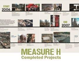 nº 19 pour Design a school construction project timeline with pictures par zainurin12