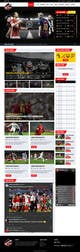 Icône de la proposition n°41 du concours Design a Mockup for Football website
