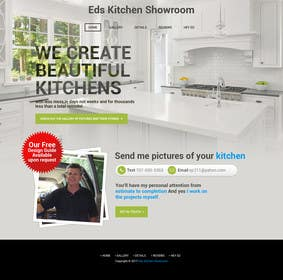 Image of                             Kitchen Contractor Landing Page