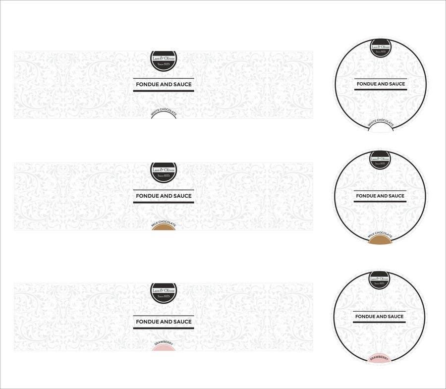 Inscrição nº                                         41                                      do Concurso para                                         Print & Packaging Design for Lars & Oliver Real Chocolate Fondue & Sauce
