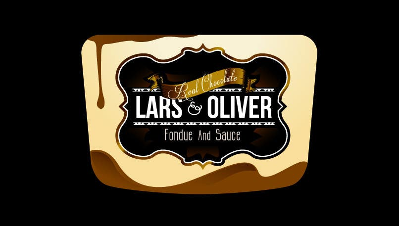 Inscrição nº                                         61                                      do Concurso para                                         Print & Packaging Design for Lars & Oliver Real Chocolate Fondue & Sauce