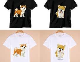 nº 17 pour Design a 30 T-Shirt's on dog theme par hotxman