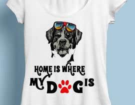 nº 22 pour Design a 30 T-Shirt's on dog theme par anieshiaka