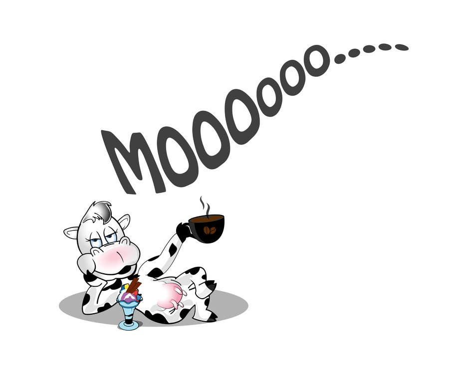Proposition n°19 du concours Modify Illustration of Cow Ice Cream Mascot
