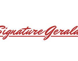 nº 34 pour Design A Signature Logo par gerardguangco