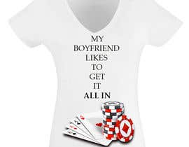 nº 15 pour Poker T-Shirt   -   All-in par Poctavian